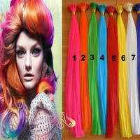 Grizzly Synthetic Loop I -Tip Hair Extension