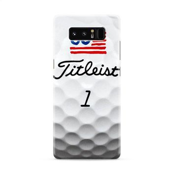 Titleist Golf Ball Print Samsung Galaxy Note 8 Case