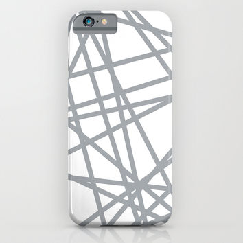 To The Edge Grey iPhone & iPod Case by Project M