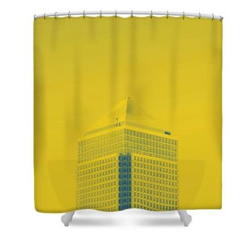 Urban Architecture - Canary Wharf, London, United Kingdom 6a - Shower Curtain
