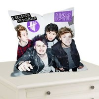 "5 Seconds of Summer Decorative Throw Pillow Case Cushion 16 ""18"" 20"" Cover"