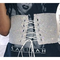 Silver and Gold Fashion Belt