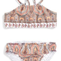 Seafolly Moroccan Paisley Two-Piece Swimsuit (Toddler Girls & Little Girls) | Nordstrom