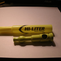 Yellow Hilighter Stealth Pipe