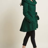 Once Upon a Thyme Coat in Basil