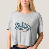 Vintage Aloha Hawaiian Women's T-shirts