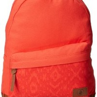 Volcom Juniors Supply Canvas Backpack, Red, One Size:Amazon:Clothing