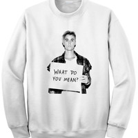 Justin Bieber Sweatshirt Super Soft DTG Print Sizes S, M, L, XL, XXL, 3XL