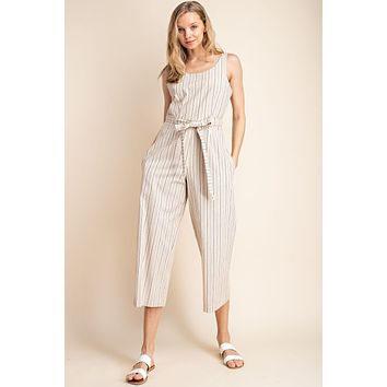 A Line In The Sand Jumpsuit