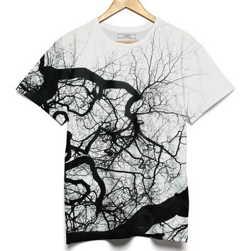 TreeOmStudio Oversize Woman T-Shirt The Branch Tree of Wisdom - JVGBD®