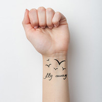 Vacation - Temporary Tattoo (Set of 2)