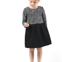 Imoga Sophia Dress in Tweed