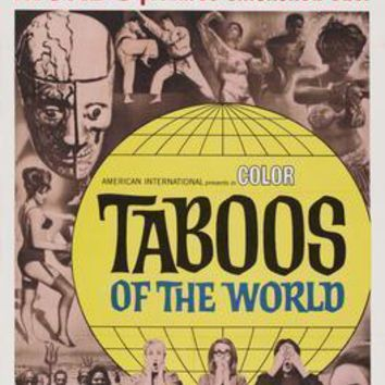 """Taboos Of The World poster 16""""x24"""""""