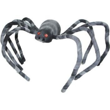 "Halloween Giant Black Spider 22"" Prop 4 unit set"