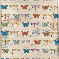 Blossomwood Butterflies Wall Tapestry Afghans