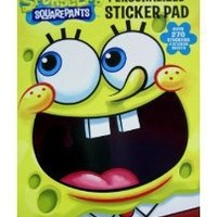 Spongebob Sticker Pad - Nickelodeons Spongebob Squarepants Sticker Pad by UPD