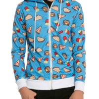 Pixelated Food Hoodie