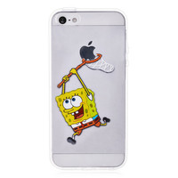 SpongeBob Transparent Case for iPhone 5 & 5S