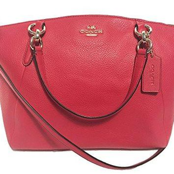 Coach Leather Small Kelsey Cross Body Bag