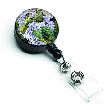 Hydrangea Retractable Badge Reel 8730BR
