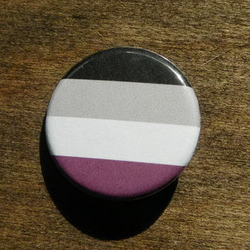 "Asexual Pride 1.25"" Pinback Button"