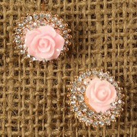 Floral Medallion Earrings