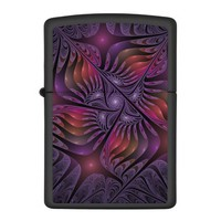 Colorful Fantasy, Abstract Fractal Art Zippo Lighter