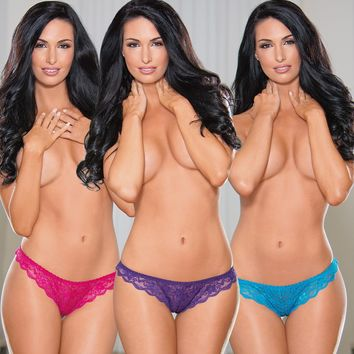 Triple Threat Panty Set