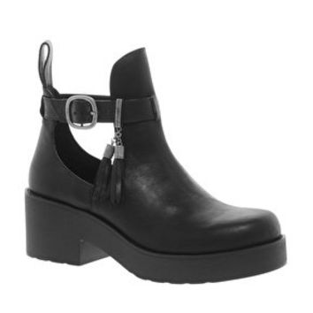 ALDO Alewyn Cut Out Ankle Boots at asos.com