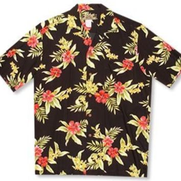 blacksand hawaiian rayon shirt