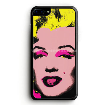 Andy Warhol Marilyn Monroe Pop Art Iconic Colorful Superstar Cute iPhone 7 Plus Case | aneend