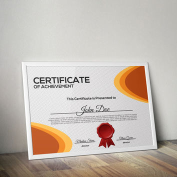 multipurpose certificate template from quicknickdesign