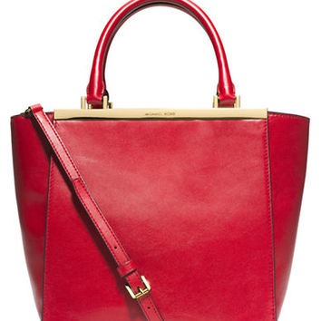 Michael Michael Kors Lana Leather Medium Tote