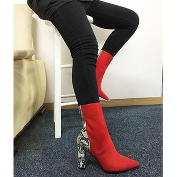 RED HOT ANKLE BOOTIE