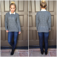 Christmas Cable Knit Sweater