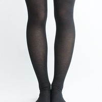 Women Lady New Hezwagarcia Must Have Essential Sunny Cute Polyester Long Over Knee Socks Tights One Size in Black