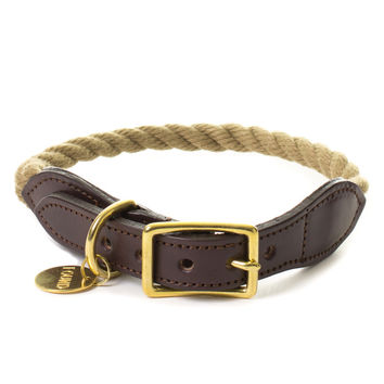 Found My Animal - Natural Rope Collar