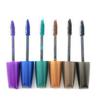 Professional 6 Color Mascara Quality Beauty Cosmetic Makeup Set