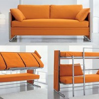 Convertible Couch: The Space Saving Doc Sofa Bunk Beds|eUPGRADER