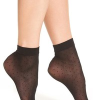 Chelsea28 Sheer Dot Anklet Socks | Nordstrom