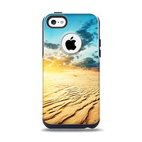 The Sunny Day Desert Apple iPhone 5c Otterbox Commuter Case Skin Set