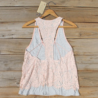 The Cozy Lace Tank