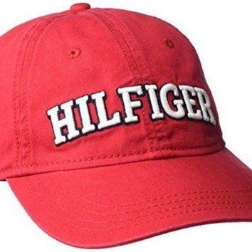 DCCKIJ2 Tommy Hilfiger Men's Rosco Dad Baseball Cap