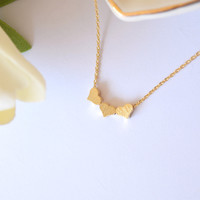 Hearts of Gold Necklace