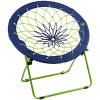 BUNJO Team Bungee Chair - Blue/Lime Green