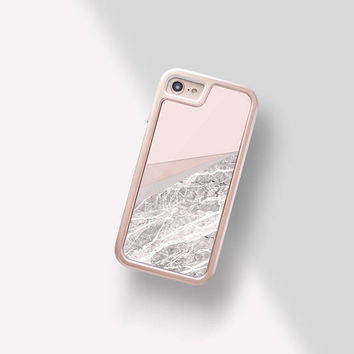 Sand iPhone 8 Plus Case Marble Beige iPhone 8 Case Gold iPhone 7 Case Marble iPhone 8 Case Protective - INTERCHANGEABLE iPhone Case
