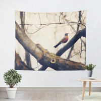 Robin Red Breast Tapestry