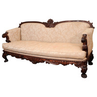 1STDIBS.COM - Arader Galleries - A Pair Of William IV Rosewood Large Sofas