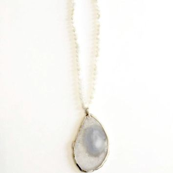 Best Long Moonstone Necklace Products on Wanelo 9ab2ee9c0381