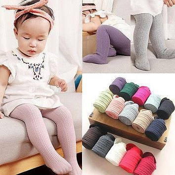 Pudcoco Baby Toddler Infant Kids Girls Cotton Warm Pantyhose Stockings Tights 0-6Y